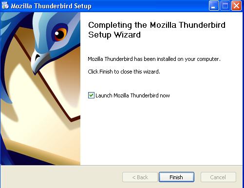 mozilla-thunderbird pasul 4